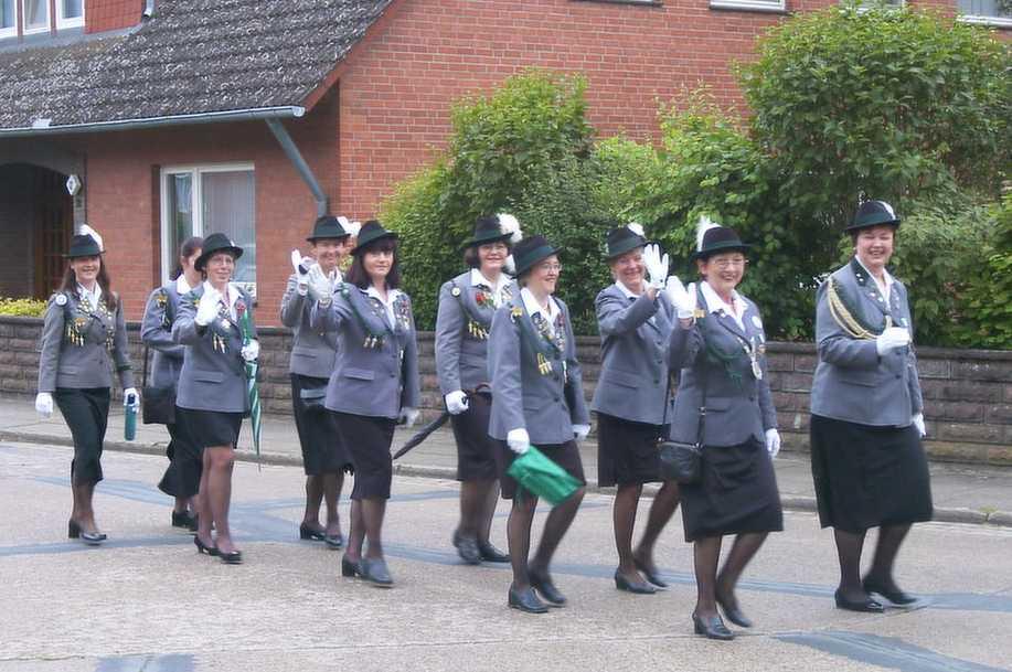 Schützendamen 2002