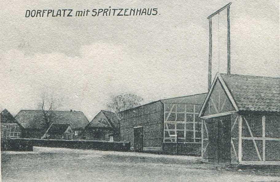 Dorfplatz ca. 1905