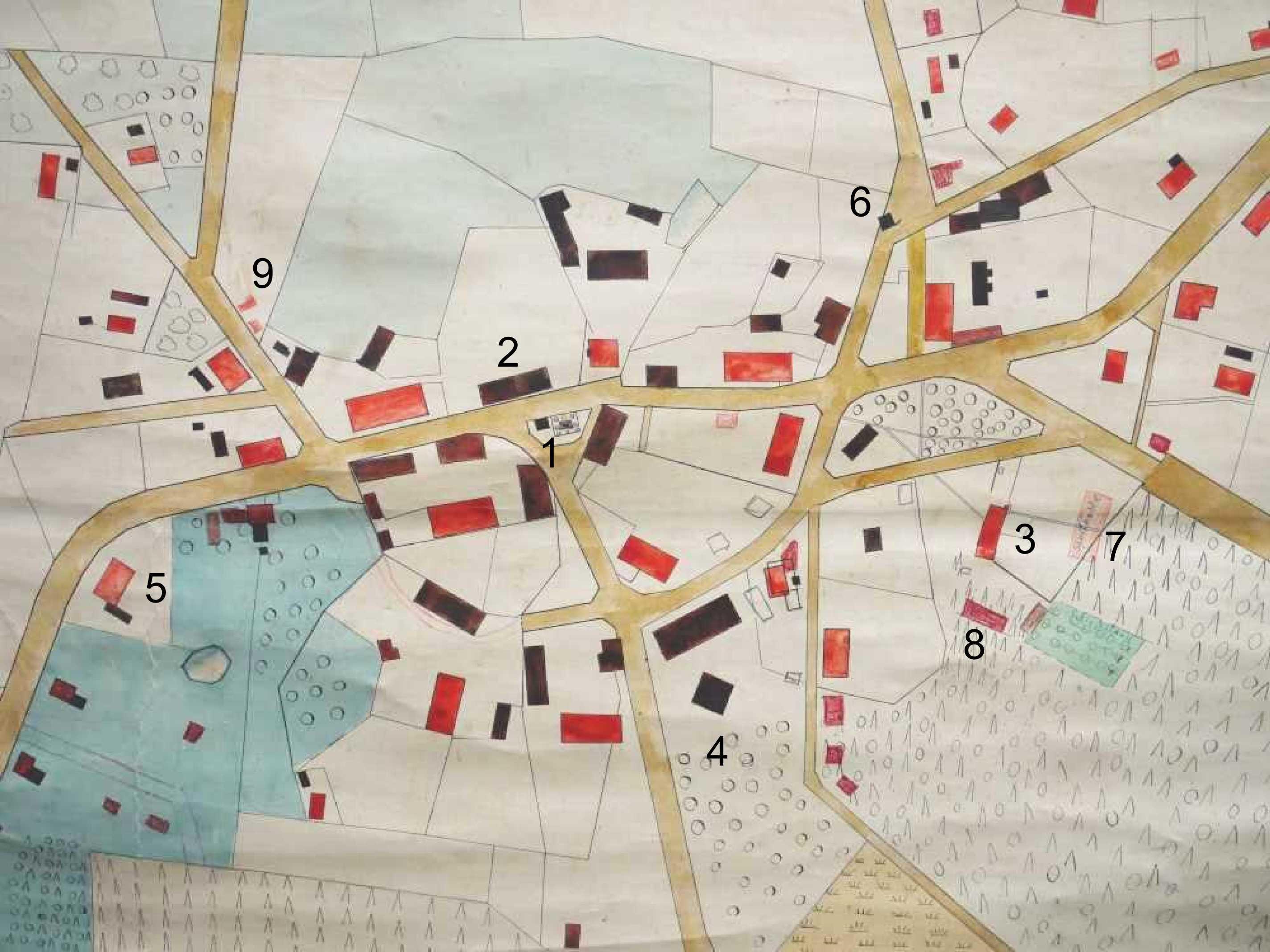 Ortskarte Scheling