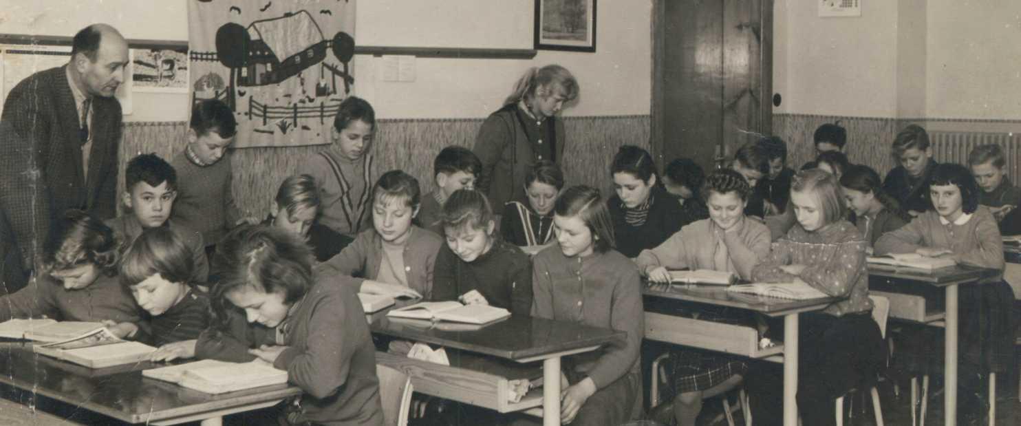 Schule 1958