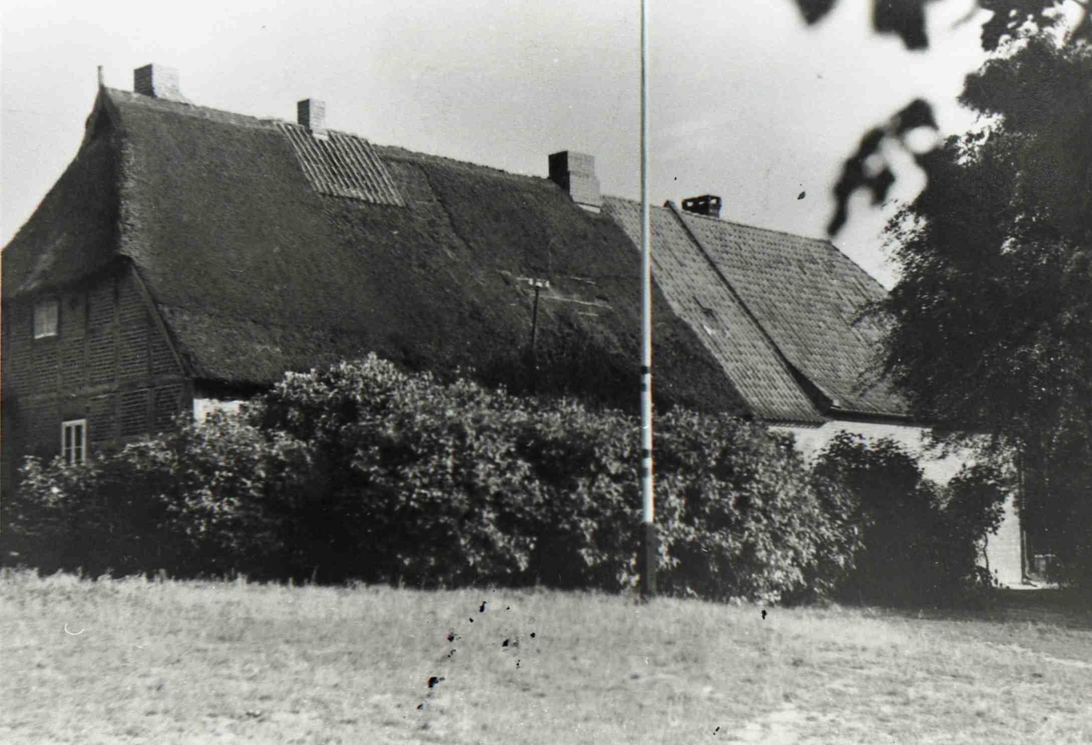 Zeichnung Alte Schule 1936