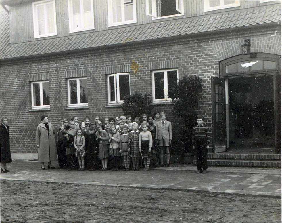 Schuleinweihung 1955